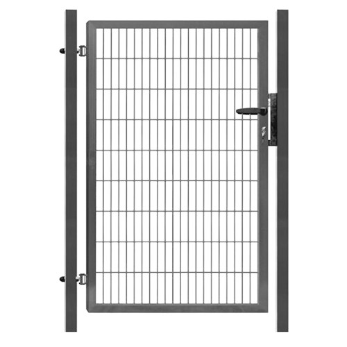 1-KR. BRÁNA SUPER Panel2D, v. 1,78m, ANTRACIT-RAL7016